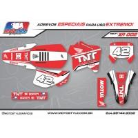 XR 002 GRÁFICO ADESIVO HONDA XR200 TNT