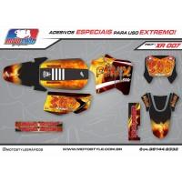 XR 007 GRÁFICO ADESIVO HONDA XR200 FENIX