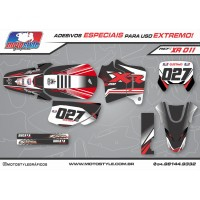 XR 011 GRÁFICO ADESIVO HONDA XR200