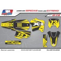 XR 018 GRÁFICO ADESIVO HONDA XR200