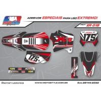 XR 019 GRÁFICO ADESIVO HONDA XR200