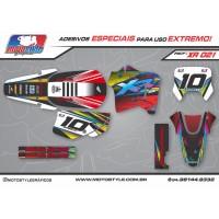 XR 021 GRÁFICO ADESIVO HONDA XR200