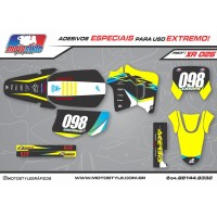XR 025 GRÁFICO ADESIVO HONDA XR200