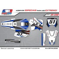 XR 032 GRÁFICO ADESIVO HONDA XR200