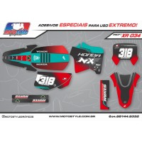 XR 034 GRÁFICO ADESIVO HONDA XR200