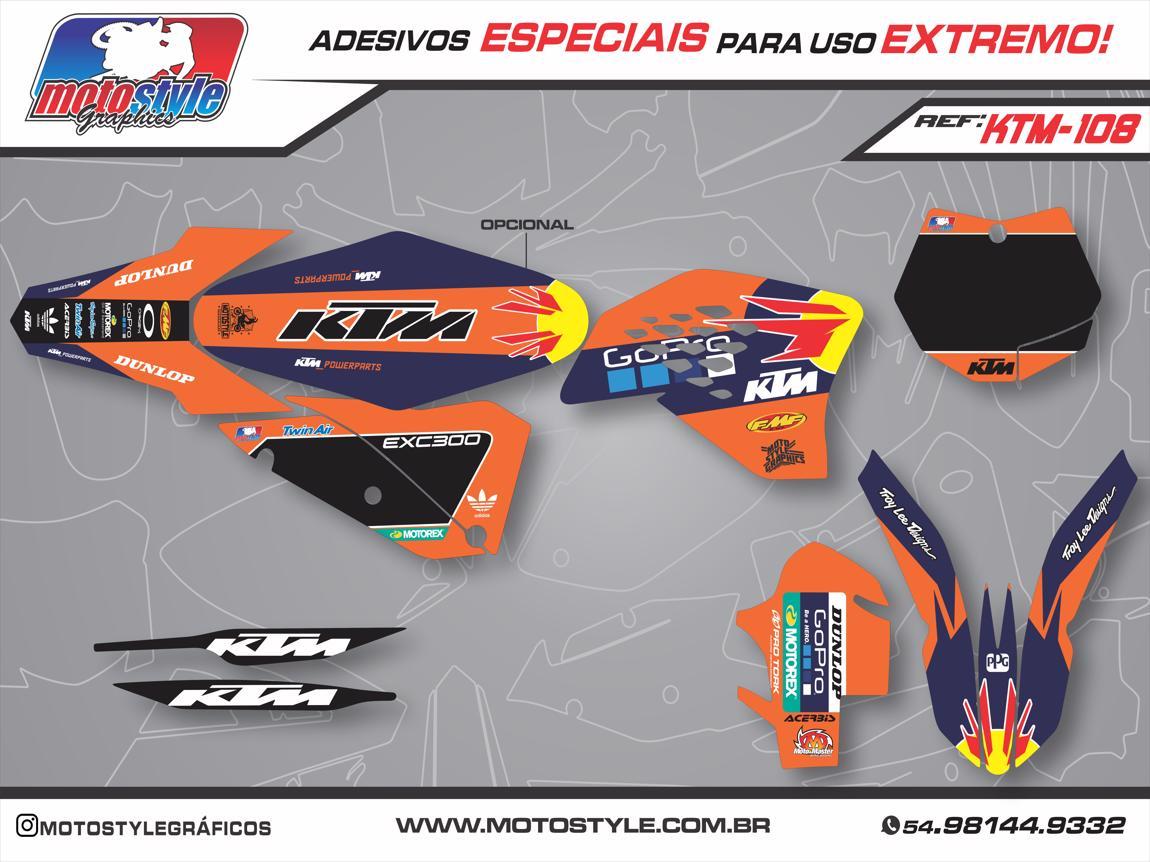 KTM 108 GRÁFICO ADESIVO KTM