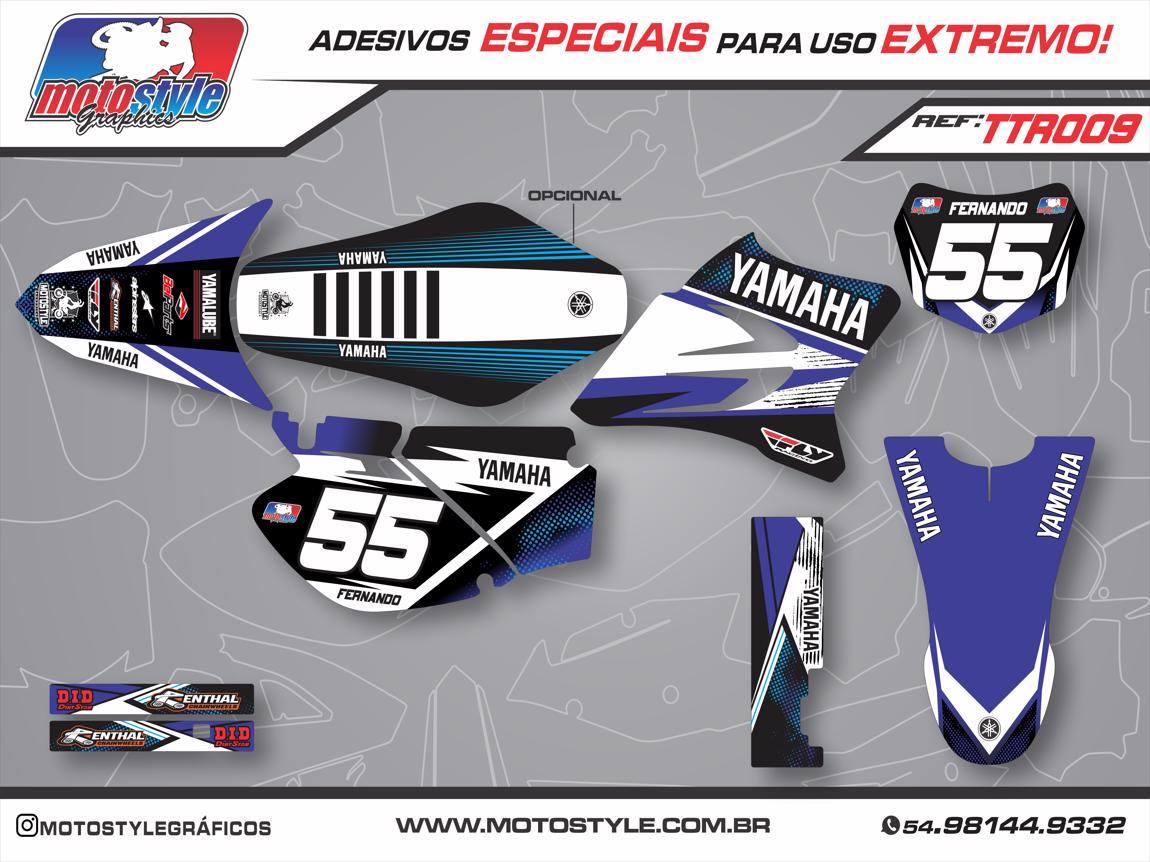 TTR 009 GRÁFICO ADESIVO YAMAHA TTR