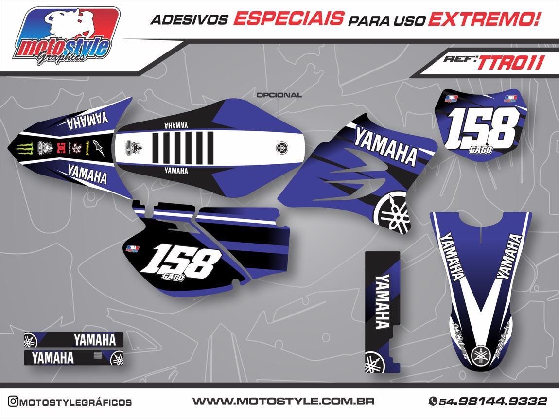 TTR 011 GRÁFICO ADESIVO YAMAHA TTR