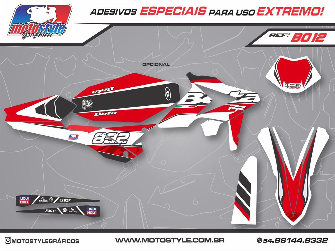 B012 GRÁFICO ADESIVO BETA RACING