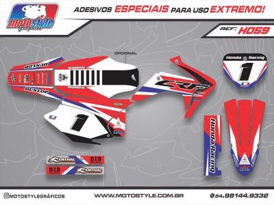 H059 GRÁFICO ADESIVO HONDA CRF 230
