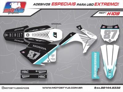 H109 GRÁFICO ADESIVO HONDA CRF 230
