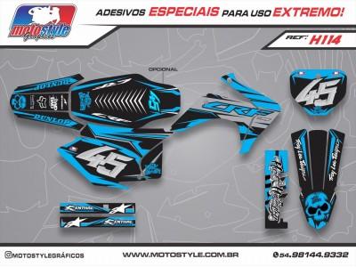 H114 GRÁFICO ADESIVO HONDA CRF 230