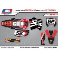 XR 003 GRÁFICO ADESIVO HONDA XR200