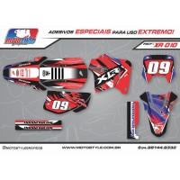 XR 010 GRÁFICO ADESIVO HONDA XR200