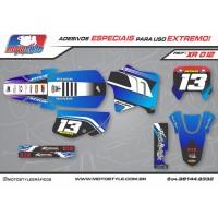 XR 012 GRÁFICO ADESIVO HONDA XR200