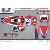 XR 013 GRÁFICO ADESIVO HONDA XR200
