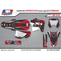 XR 014 GRÁFICO ADESIVO HONDA XR200