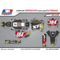 XR 015 GRÁFICO ADESIVO HONDA XR200 ROCKSTAR