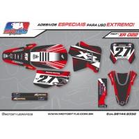 XR 022 GRÁFICO ADESIVO HONDA XR200