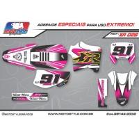 XR 026 GRÁFICO ADESIVO HONDA XR200