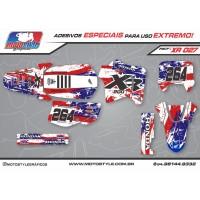 XR 027 GRÁFICO ADESIVO HONDA XR200