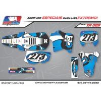 XR 028 GRÁFICO ADESIVO HONDA XR200