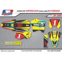 XR 029 GRÁFICO ADESIVO HONDA XR200