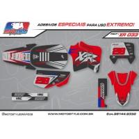 XR 033 GRÁFICO ADESIVO HONDA XR200