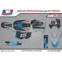 XR 035 GRÁFICO ADESIVO HONDA XR200