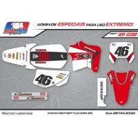 XR 036 GRÁFICO ADESIVO HONDA XR200
