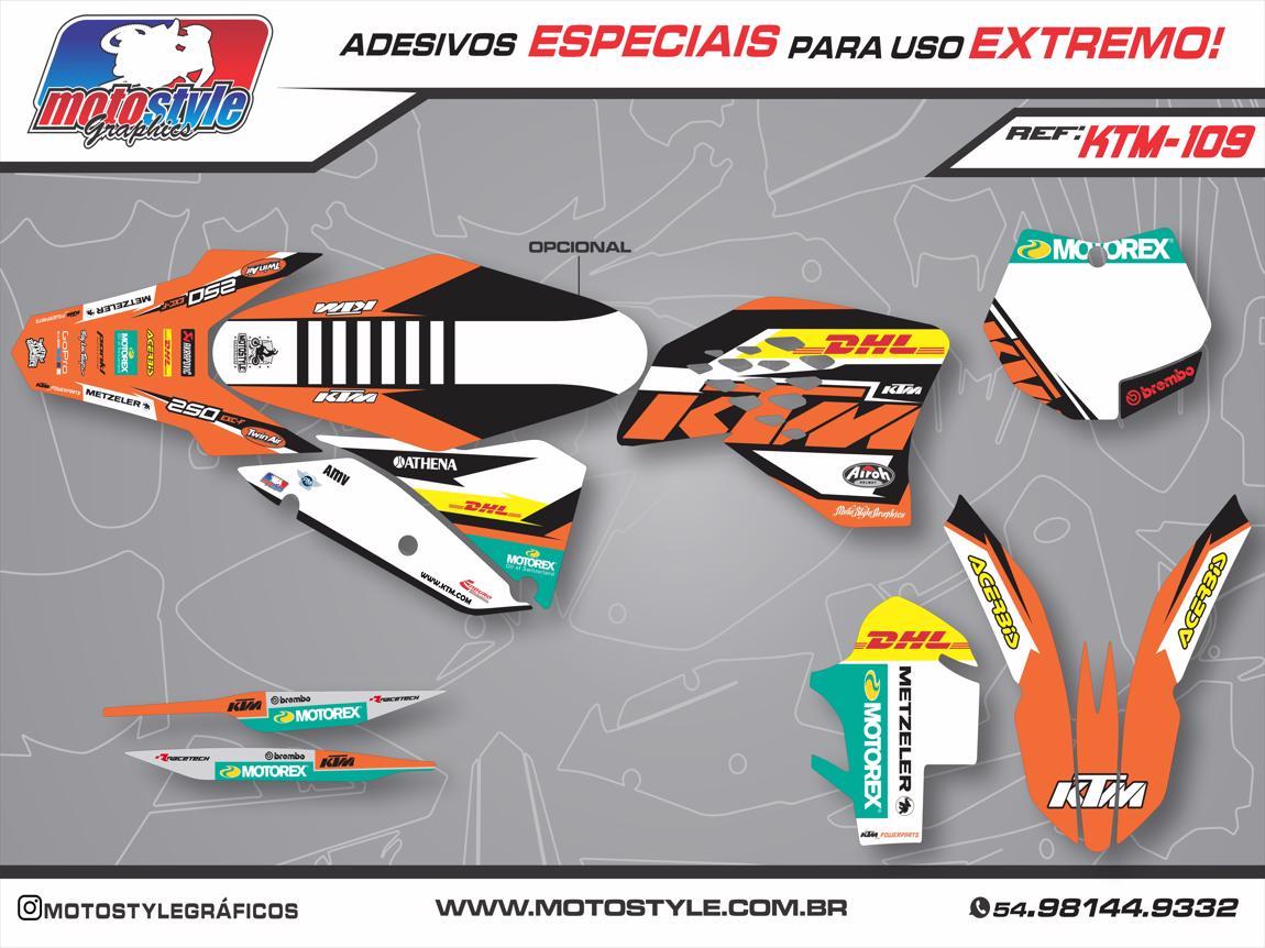 KTM 109 GRÁFICO ADESIVO KTM
