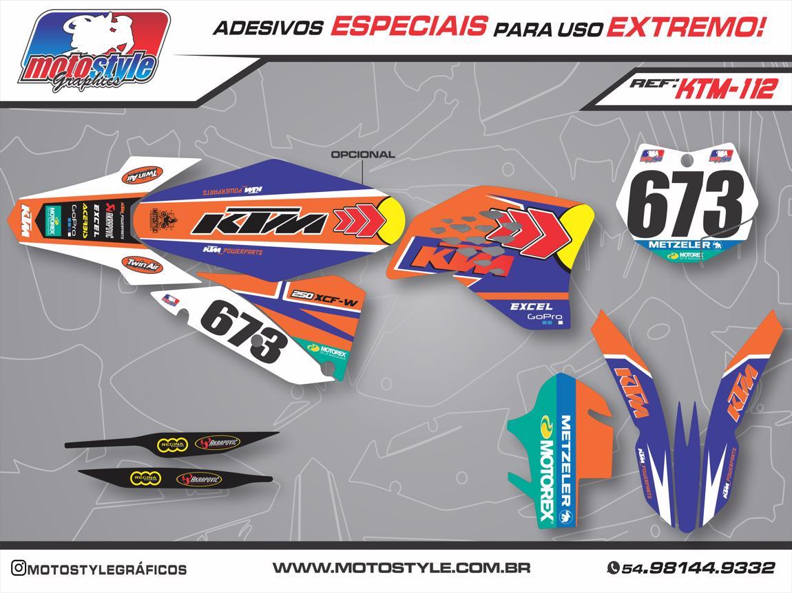 KTM 112 GRÁFICO ADESIVO KTM