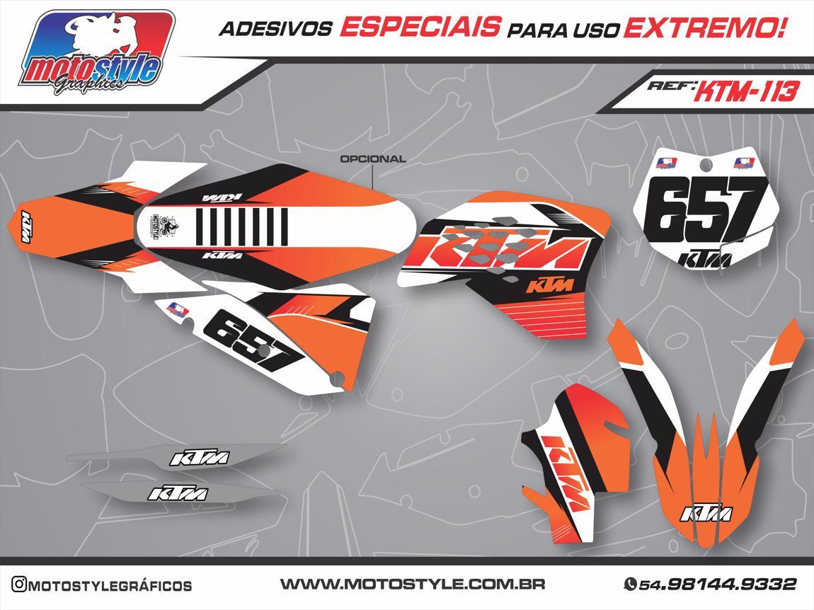 KTM 113 GRÁFICO ADESIVO KTM