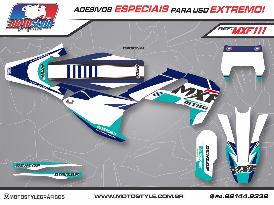MXF 111 GRÁFICO ADESIVO MXF 2T