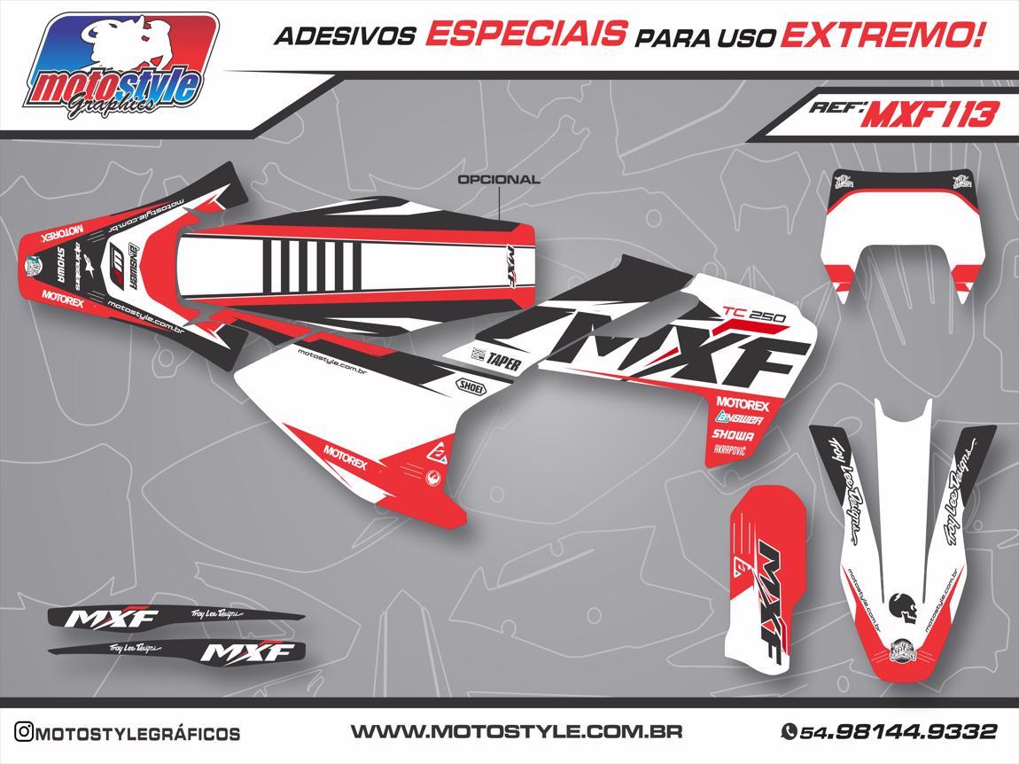 MXF 113 GRÁFICO ADESIVO MXF 2T