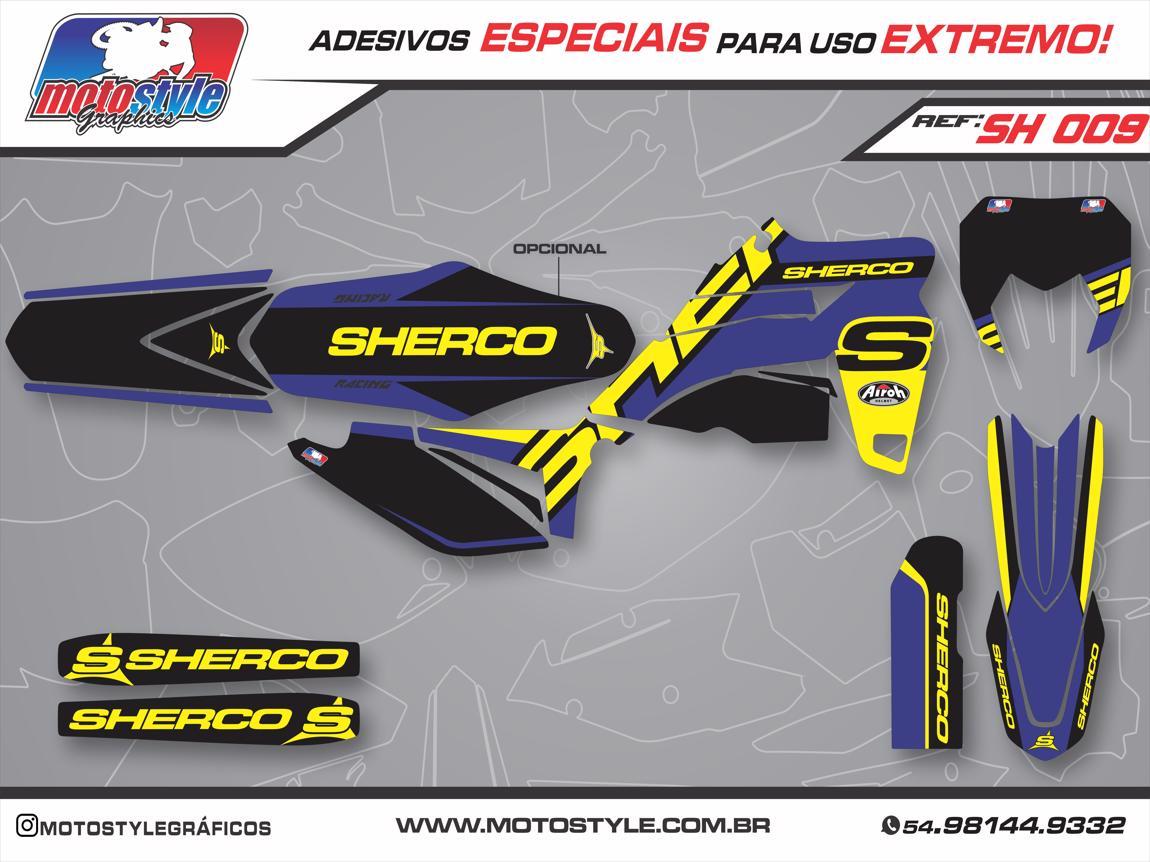 SH 009 GRÁFICO ADESIVO SHERCO