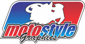 Motostyle Gráficos Adesivos para uso Extremo